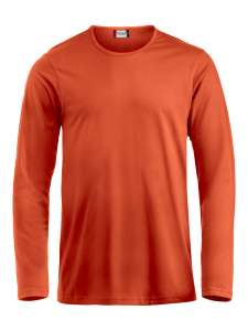 Fashion-T L/S T-Shirt bedrucken - Blutorange