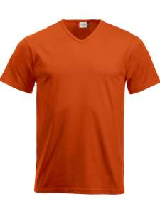 Fashion-T-Shirt bedrucken - Blutorange