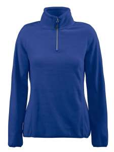 Fleece Sweater bedrucken - Blau