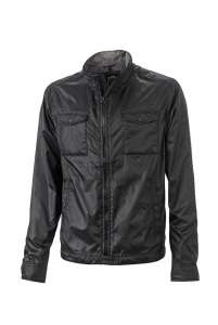 Men's Travel Jacket Black