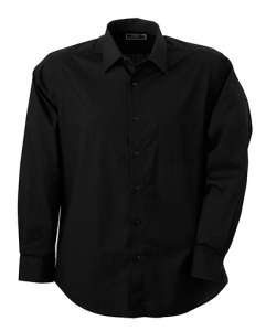 Men's Shirt Classic Fit Long Black