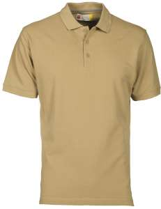 VENICE WARM BROWN - Poloshirt bedrucken