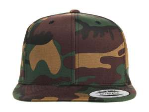 Classic Snapback in Camo CAMOUFLAGE