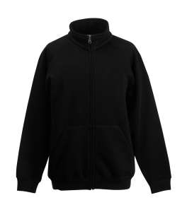 Classic Sweat Jacket Kids Black