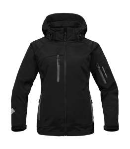 Womens Solar System 3-in-1 Jacket Black