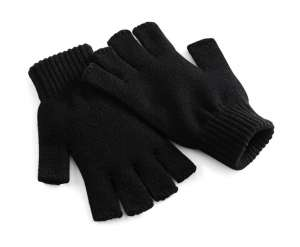 Fingerless Gloves Black
