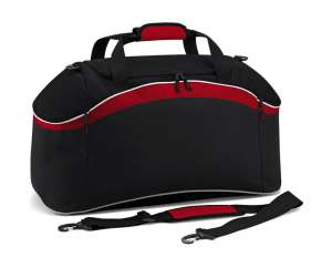 Teamwear Holdall Black/Classic Red/White