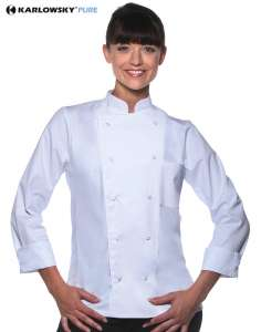 Chef Jacket Basic Unisex White