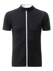 Men's Bike-T Full Zip Black/white