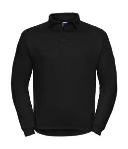 Workwear Polo-Sweatshirt Black