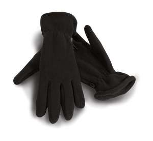 Active Fleece Handschuhe Black