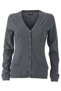 Ladies' Cardigan Anthracite-melange