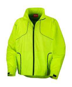Spiro Cycling Jacket Neon Lime