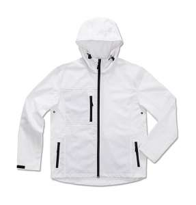 Active Softest Shell Hooded Jacket White