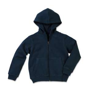 Active Sweatjacket Kids Blue Midnight