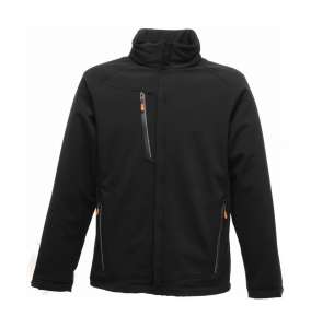 Apex Waterproof Breathable Softshell Black
