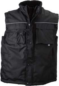 Workwear Vest Black