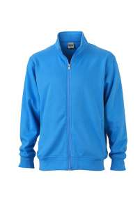 Workwear Sweat Jacket Aqua