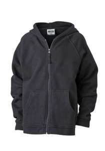 Hooded Jacket Junior Black