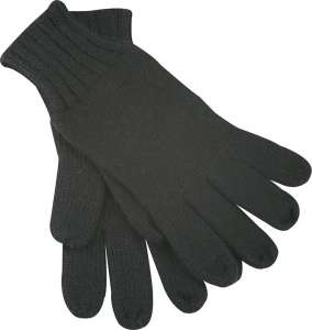 Knitted Gloves Black