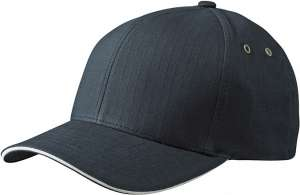 Flexfit® Ripstop Sandwich Cap Black/cream