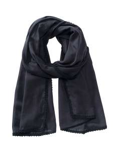 Cotton Scarf Black