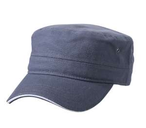 Military Sandwich Cap Anthracite/white