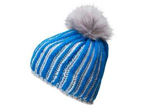 Ladies' Winter Hat Cobalt/silver