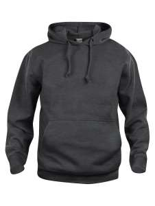 Basic Hoody Anthrazit Meliert